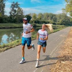 Qui court en couple ?! . @athena_fred__ 😍👩❤️👨 . #runntrailaddict #runner #trail #running
